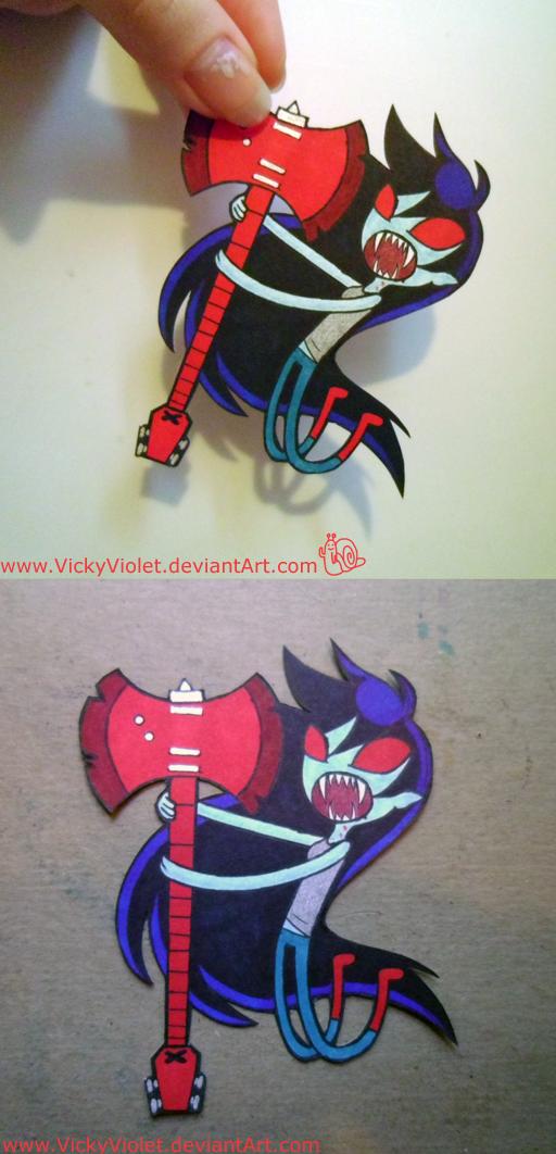 Marceline paperchild by VickyViolet