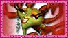 Gloria Von Gouten Stamp by VickyViolet