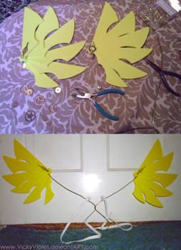 Yellow Mechanical Wings