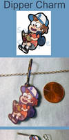 Dipper Charm by VickyViolet