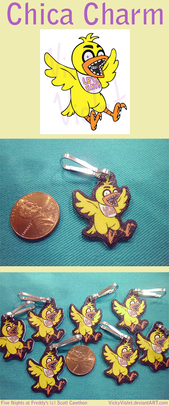 Chica Charm by VickyViolet