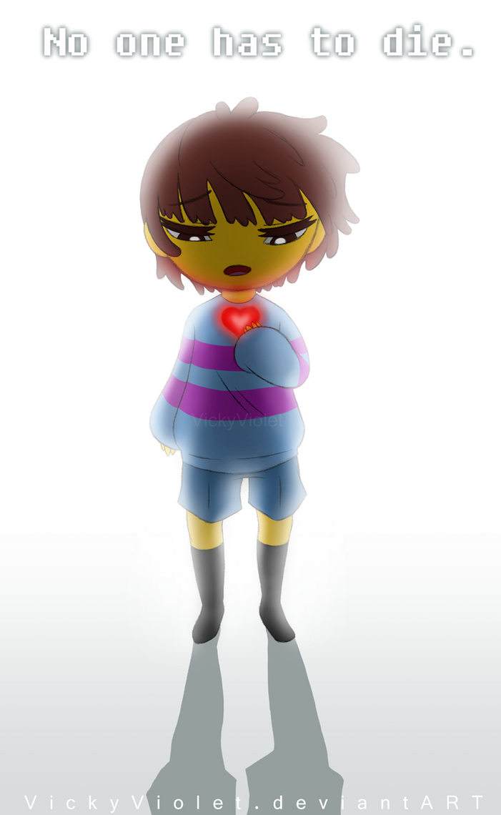 Undertale by VickyViolet