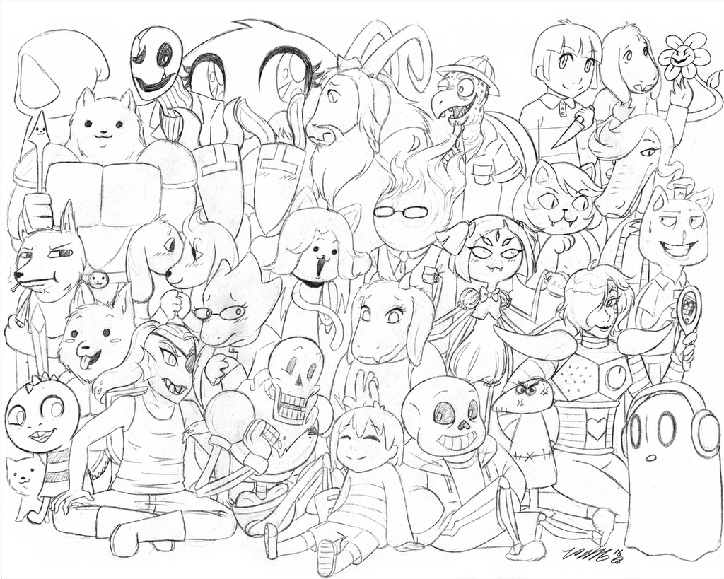 welcome to undertale wip by vickyviolet on deviantart