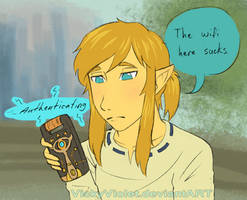 Breath of the Wifi by VickyViolet