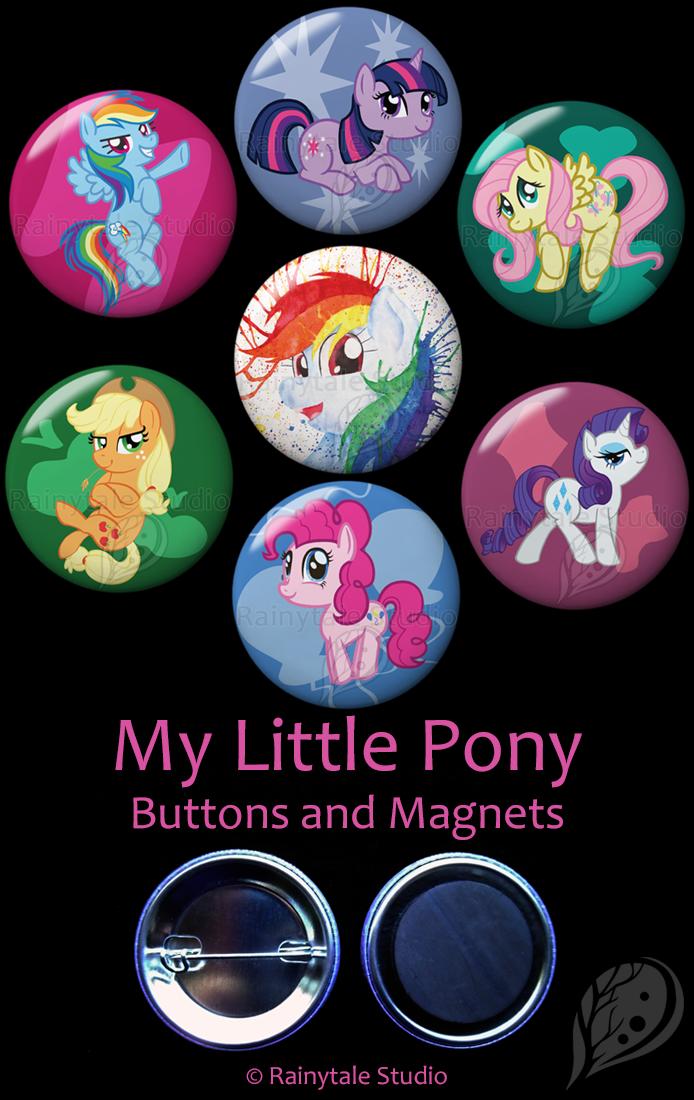 My Little Pony Set by VickyViolet