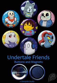 Undertale Friends Set