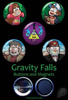 Gravity Falls Set