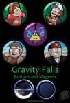 Gravity Falls Set by VickyViolet