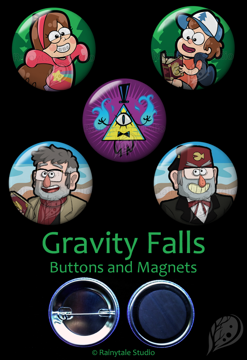 Gravity Falls Set by VickyViolet