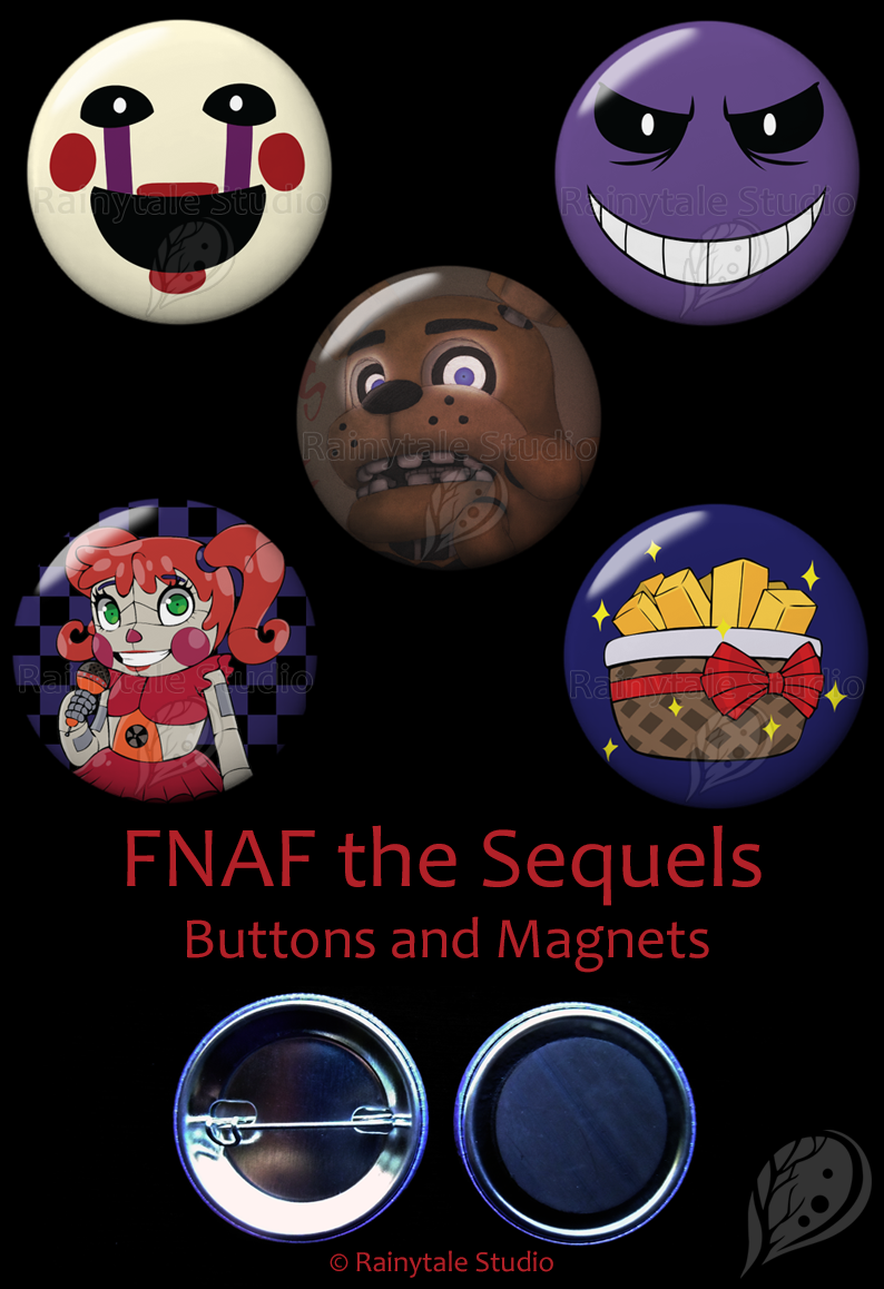 FNAF the Sequels Set by VickyViolet