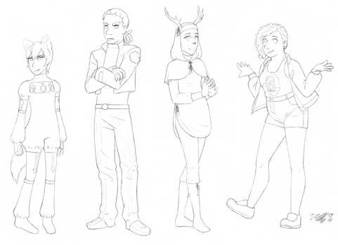 Mental Metas characters 1
