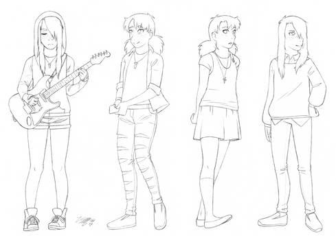 Teya outfits