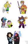 Animal Crossing Stream by VickyViolet