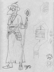 DnD - Edois sketch