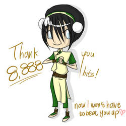 Toph thanks you by HikaruS2chan