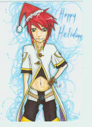 ToA Holiday Card by HikaruS2chan