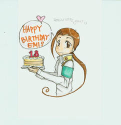 Rossiu Birthday Card by HikaruS2chan