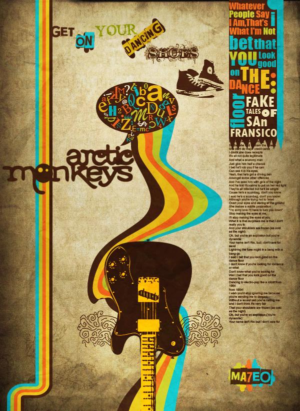 Dibujos - Logos - Flyers - Firmas - Página 2 Arctic_Monkeys_by_Ma7eo0