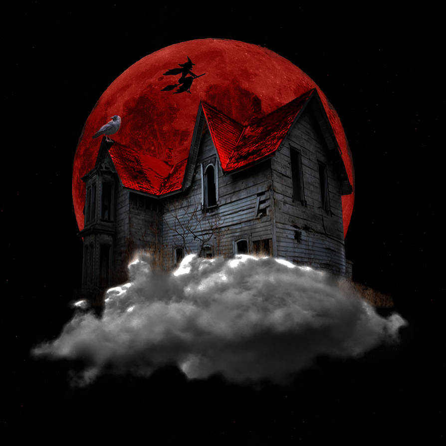 Blood Moon and the Witch
