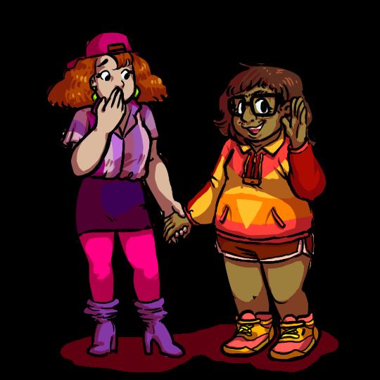 Daphne n Velma by bobthedancingflea