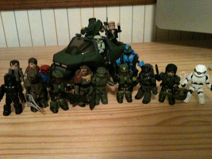Minimates Halo 3 Halo Minimates by
