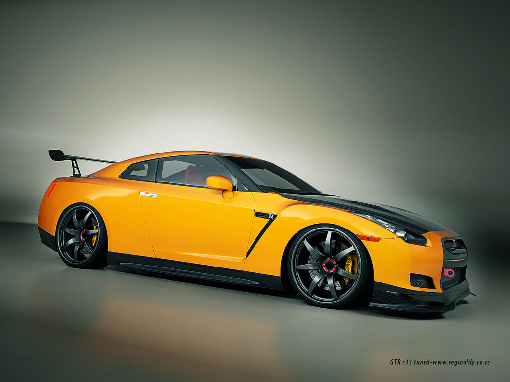 nissan skyline gtr r35 tuned 3 by 3dmanipulasi on deviantart. Black Bedroom Furniture Sets. Home Design Ideas