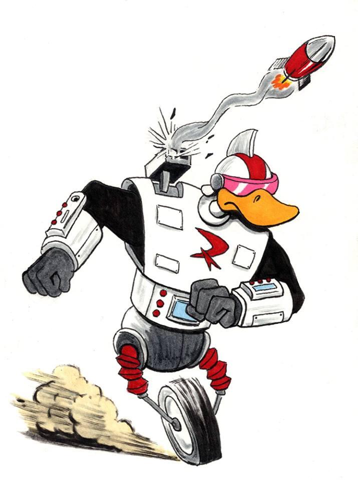 Gizmoduck by IllustratorErik
