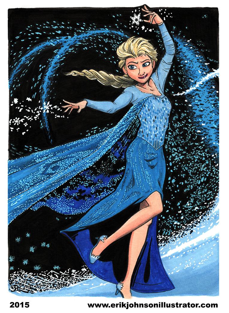 Let It Go by IllustratorErik