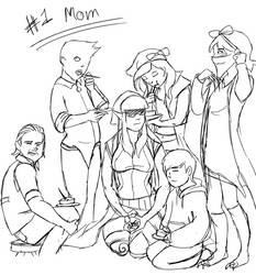 #1 Mom by Cyn009
