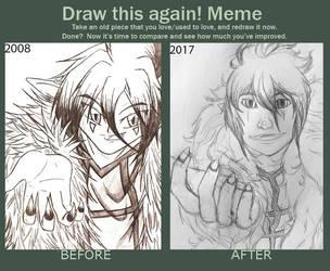Draw this Again: Rakten by Cyn009