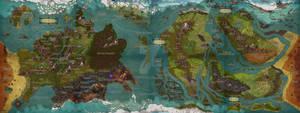 Homebrew World Map