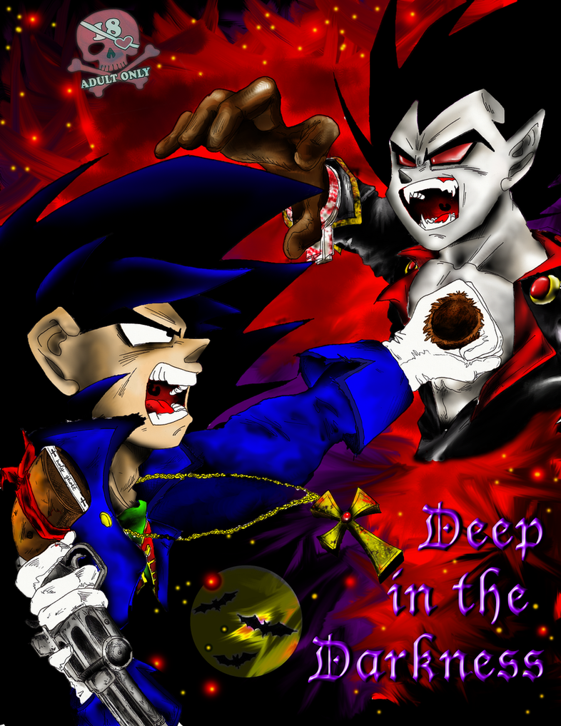 Deep In The Darkness Cover by KrazyKat001