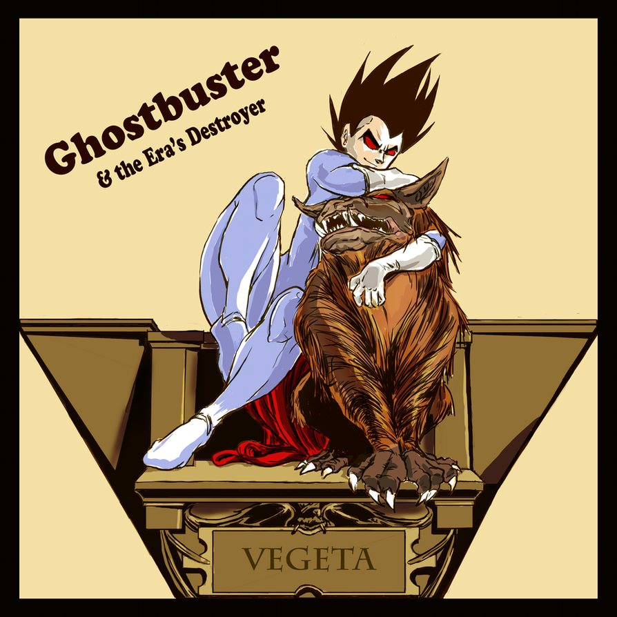 Ghostbuster and the Era's Destroyer Cover by KrazyKat001