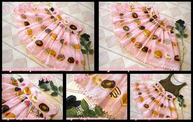 Doughnut Sweetheart Miniskirt by decora-rockstar