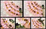 Doughnut Sweetheart Miniskirt