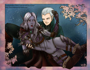 WOW and DmC: Sylvanas and Vergil Comm