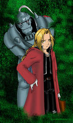Full Metal Alchemist -Color- by Lauralanthalasa