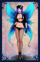 Commission: Fairy biker by Lauralanthalasa