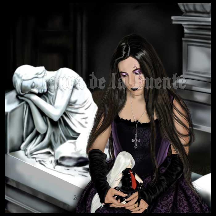 Gothic doll by Lauralanthalasa