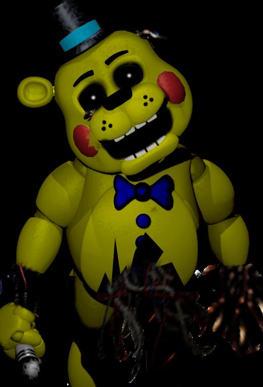 Old Toy Freddy : Old golden toy freddy by ultimatenuke on deviantart
