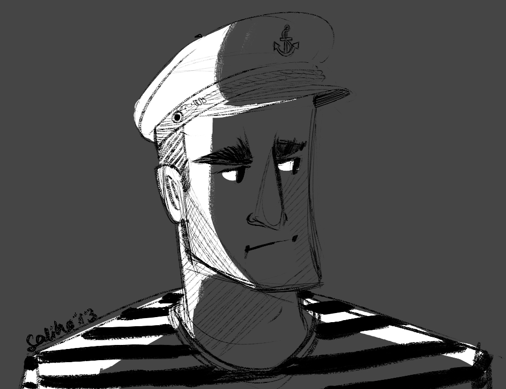 Aye Aye, Captain! by G-Golomer on DeviantArt