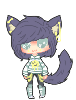 Neko bby CLOSED by PandaAdopts
