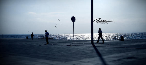 Walk By the Sea by Artillusion
