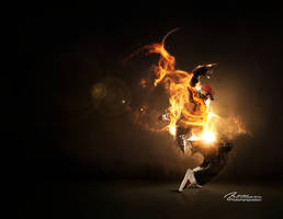Scorpion Fire by Artillusion