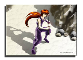 kenshin as a ninja.. :p by raymund