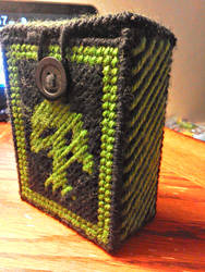 Magic the Gathering Green Deck Holder