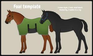 Foal template