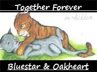 Bluestar and Oakheart by WarriorsBluestar12