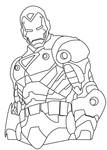 Ironman Coloring Sheet Contest