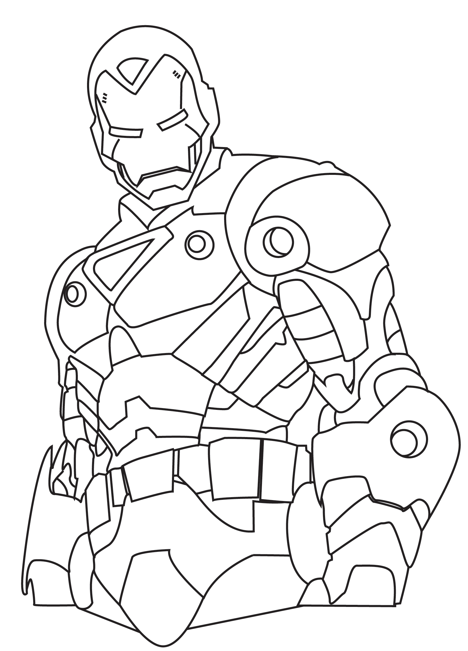Ironman coloring sheet contest by graffd02 on deviantart for Ironman coloring page